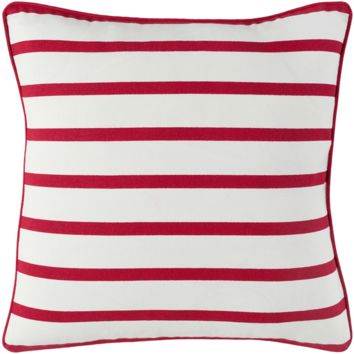 Holiday Pillow IV ~ Bright Red