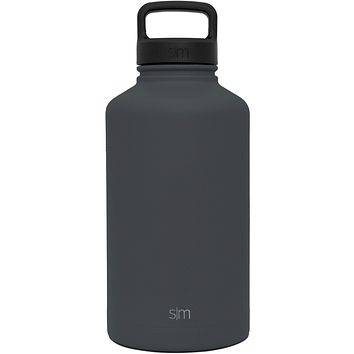 Custom Etched Simple Modern Summit Water Bottle, 64 Ounce