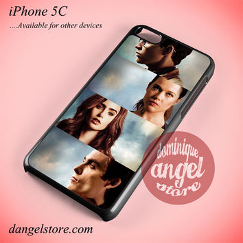 The Mortal Instruments City Of Bones Characters Phone case for iPhone 5C and another iPhone devices