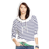 FRENCH TERRY COWLNECK HOODIE