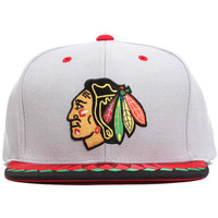 Chicago Blackhawks Variant Snapback Hat Grey