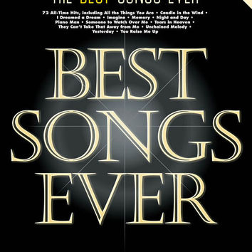 The Best Songs Ever – 8th Edition - Songbook For Piano/Guitar/Vocal
