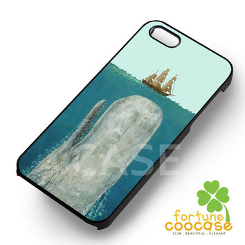 Whale From The Deep -rdh for iPhone 6S case, iPhone 5s case, iPhone 6 case, iPhone 4S, Samsung S6 Edge