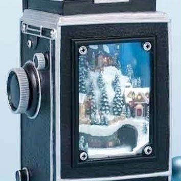 Lighted Christmas Camera - Vintage Style Camera
