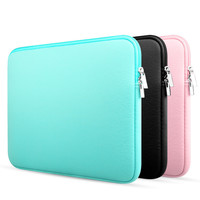 New Fashion Soft Laptop Sleeve Bag Full Protective Notebook Case Cover Handbag for Macbook Air 13 Pro 13 Retina 11 13 15