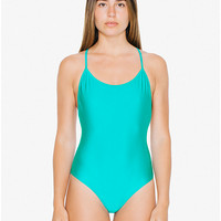 Crossback One-Piece Swimsuit | American Apparel
