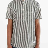 CPO Short-Sleeve Seersucker Stripe Popover