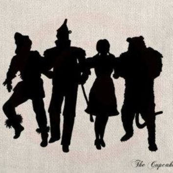 Wizard of Oz Gang Group Vinyl Decal Sticker Car Truck Window Wall Bumper Active