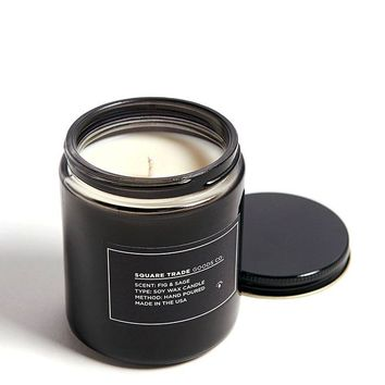 Fig & Sage Scented Soy Candle