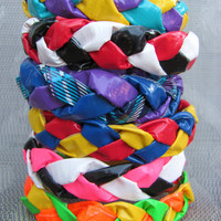 Custom Made Braided Duct Tape Bracelet- over 80 colors and patterns to choose from