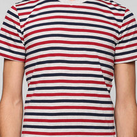 Urban Outfitters - BDG Stripe V-Neck Tee