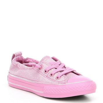 Converse Girls' Shoreline Coated Canvas Sneakers | Dillards