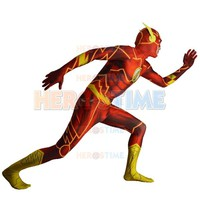 Flash  Costume    Shade  superhero  costume  spandex