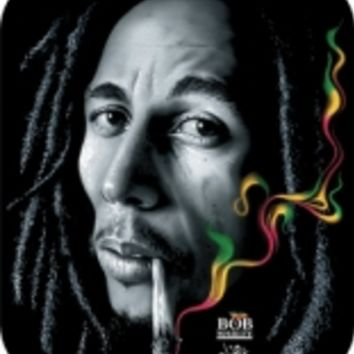 Bob Marley - Rasta Smoke Sticker