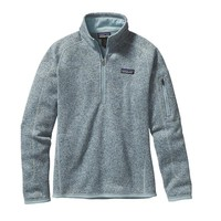 Patagonia Women's Better Sweater® Quarter Zip Fleece | Tubular Blue
