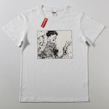 Cheap Women's and men's supreme t shirt for sale 85902898_0144