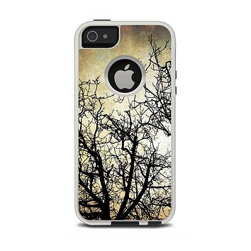 The Dark Branches Bright Sky Apple iPhone 5-5s Otterbox Commuter Case Skin Set