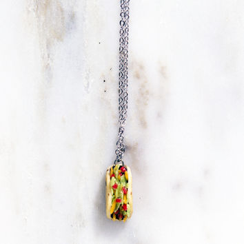 Taco Bout It Necklace