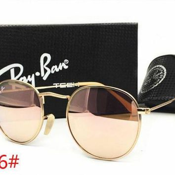 Ray Ban Fashion Women Men Personality Summer Sun Shades Eyeglasses Glasses Sunglasses Pink I-MYJ-YF