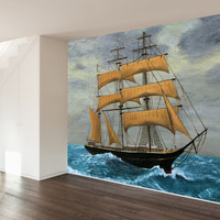 Landy Ahoy! Wall Mural Decal