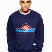 Penfield Sweatshirt with Mountain Print