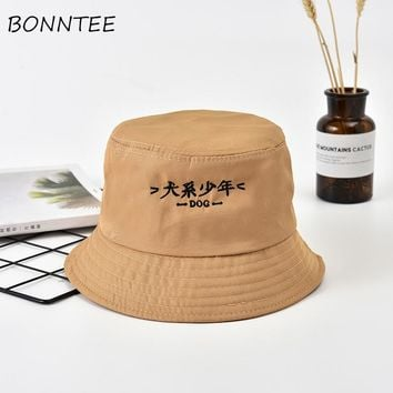Women Hats Casual Sun Shading Outdoor Kawaii Letter Printed Colorful Bucket Hats Womens Chic Daily Japanese Style Sports Lovely