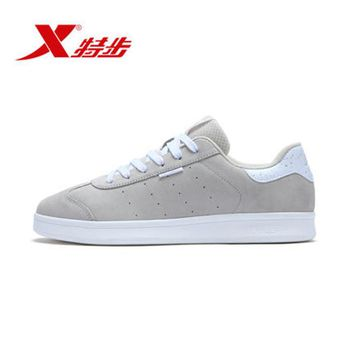 983319319173 XTEP Retro Cool Harajuku hip hop Classic Men's leather Sport Skateboarding Shoes Sneakers for men