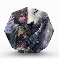 Snow+Elf+Girl+with+Lion