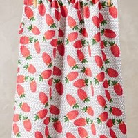 Kendra Dandy Strawberry Fields Dishtowel in Red Size: One Size Kitchen