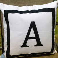 Personalized Gifts for home, Throw pillows, Monogram Decortaive Pillows, Cotton Pillows, Euroshams,Gifts