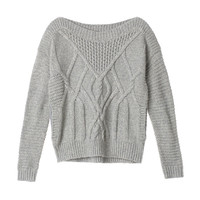 Mixed-stitch Cocoon Sweater - Cozy Sweaters - Victoria's Secret
