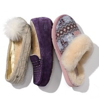 UGG Australia 'Cozy Nordic Knit' Slipper (Women)