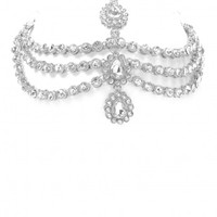 ILLUSIONS SILVER HEADPIECE - Jewellery - LAMODA