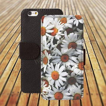 iphone 6 case Small Chrysanthemum colorful iphone 4/4s iphone 5 5C 5S iPhone 6 Plus iphone 5C Wallet Case,iPhone 5 Case,Cover,Cases colorful pattern L524
