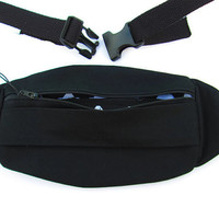 Black Denim Fanny Pack for Men or Women