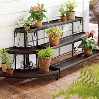 Embellished Steel Plant Stands - Plow & Hearth