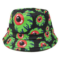 Keep Watch Bucket Hat (Black/Green)