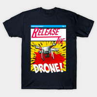 Release the Drone Comic by ralphthemoviemaker