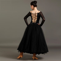 New red\black fine ballet dress modern dance good quality waltz\ballroom\tango\fox-trot costumes competition performance dress