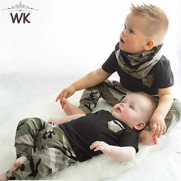 Camouflage Unisex clothing sets