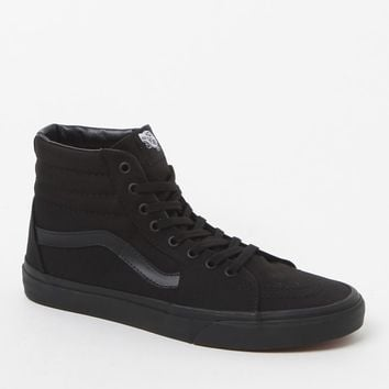 Vans Sk8-Hi Black Canvas Shoes at PacSun.com