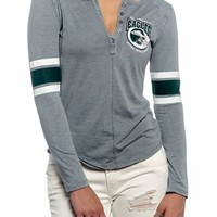 Philadelphia Eagles Womens Vintage Raglan Top | SportyThreads.com