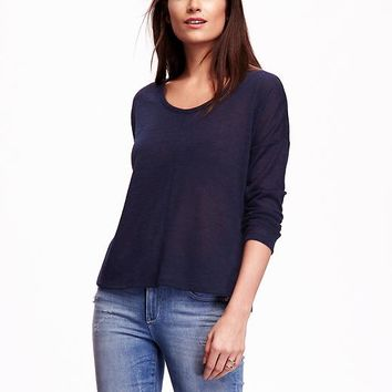Old Navy Lightweight Sweater Knit Tee