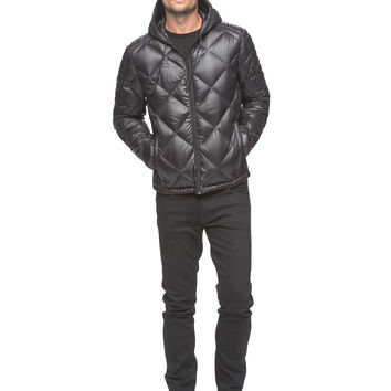 Marc New York - Irvington - Packable Down Hooded Jacket