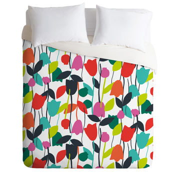 Zoe Wodarz Lazy Day Floral Duvet Cover