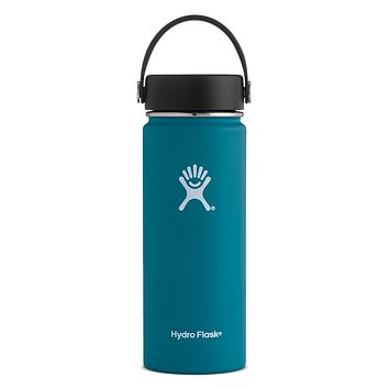 18 oz. Wide Mouth Hydro Flask - Jade