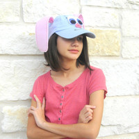 Teacher gift. Rabbit Children cap.  Costume accessory for child or adult. Children. Bunny Hat child. Eco friendly toy. kids toy.