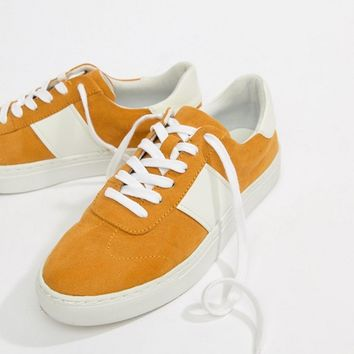 ASOS DESIGN Drizzle Lace Up Sneakers at asos.com