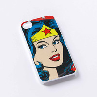 Wonder Woman cartoon iPhone 4/4S, 5/5S, 5C,6,6plus,and Samsung s3,s4,s5,s6