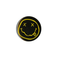 Nirvana Smiley Pin
